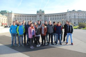 Gruppenfoto der LBS Knittelfeld