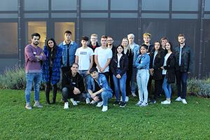Gruppenfoto der 1A Klasse ÖBB, Praterstern 4, 1020 Wien
