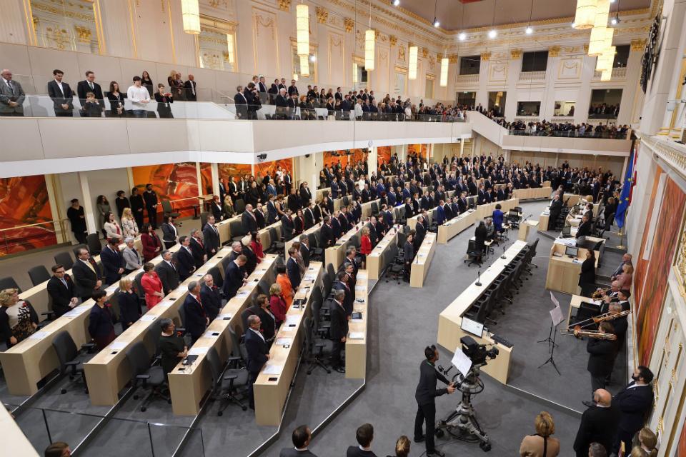 Konstituierende Sitzung des Nationalrates