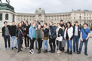 Gruppenfoto des JPP Wien