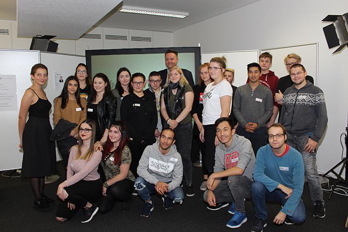 Gruppenfoto der Landesberufsschule Eisenstadt