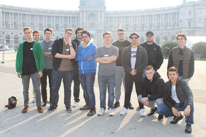 Gruppenfoto der Berufsschule Linz, Donau