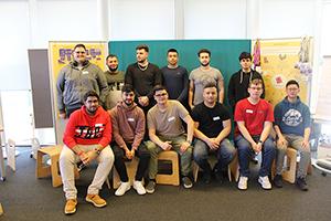Gruppenfoto Lehrlinge der Kapsch Partner Solutions