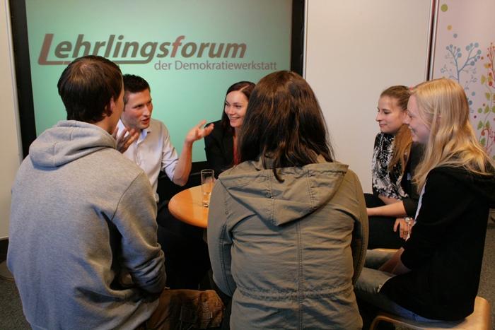 Gesprächsrunde mit Nationalratsabgeordneter Eva Maria Himmelbauer und dem Bundesrat David Stögmüller